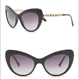 Dolce and Gabbana Cat Eye Gradiant Sunglasses